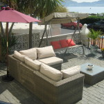 Comfortable Summer Seating Areas In Our Gardens