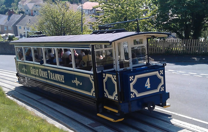 The Great Orme Tramway Opens on the 25th of March!